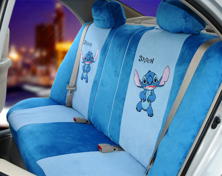 Disney Stitch Car Seat Cover Velcromag