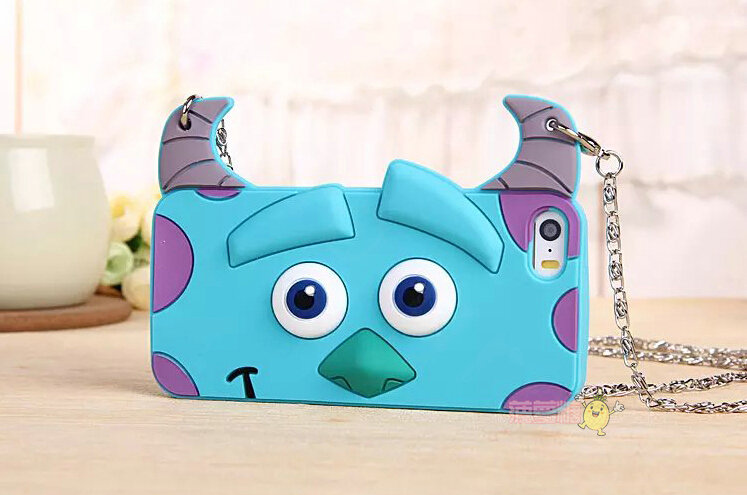 Cover Cartoon Sulley Silicone Cases