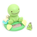 Cute Shake head doll Solar sunny doll shook his head doll Car decoration - Green