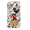 Genuine Cute Cartoon Minnie Mouse Covers Plastic Back Cases Matte for iPhone 6 Plus 5.5 - Red