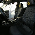 High Quality Classic Universal Batman Auto Car Seat Covers Cotton 4pieces Sets - Black
