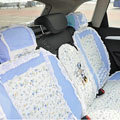 Mickey Mouse universal Car Seat Covers sets - blue EB012