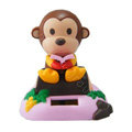 Shake his head doll Solar Cute monkey shake head doll Car decoration