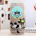 TPU Cover Disney Mickey Mouse Silicone Case Shell for iPhone 6 Plus 5.5 - Transparent