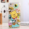 TPU Cover Disney Winnie the Pooh Silicone Case Donald Duck for iPhone 7 Plus 5.5 - Transparent