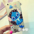 Transparent Cover Disney Stitch Silicone Shell Cute for iPhone 7 Plus 5.5 - White