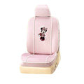 VV Disney Minnie Mouse velvet Custom Auto Car Seat Cover Set - Pink