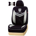 VV TRANSFORMERS mesh Custom Auto Car Seat Cover Set - Black