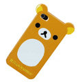 Rilakkuma Panda hard back cover for iphone 4G - brown