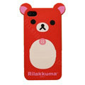 Rilakkuma Panda hard back cover for iphone 4G - red