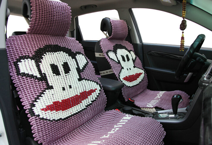 Buy Wholesale Funky Paul Frank Universal Auto Car Seat Covers Ice