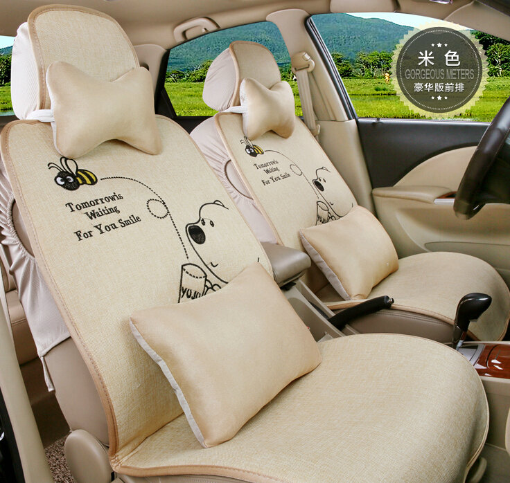 Buy Wholesale Pretty Winnie the Pooh Universal Auto Car Seat Covers ...