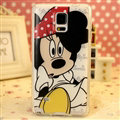 Cartoon Matte Minnie Mouse Hard Back Cases For Samsung Galaxy S5 i9600 - Black