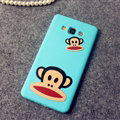 Classic Paul Frank Silicone Cases For Samsung Galaxy A7 A7009 - Blue