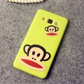 Classic Paul Frank Silicone Cases For Samsung Galaxy A7 A7009 - Green