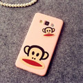 Classic Paul Frank Silicone Cases For Samsung Galaxy A7 A7009 - Pink