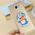 Cool Doraemon Silicone Cases For Samsung Galaxy A8 A8000 - White