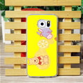 Cool Matte Winnie The Pooh Hard Back Cases For Samsung Galaxy S6 G920F G9200 - Yellow