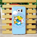 Cool Matte Winnie The Pooh Hard Back Covers For Samsung Galaxy S6 G920F G9200 - Blue