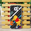 Cool Matte Winnie The Pooh Hard Back Covers For Samsung Galaxy S6 G920F G9200 - Grey