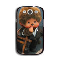 Cool Monchhichi Matte Hard Back Cases For Samsung Galaxy Grand 3 G7200 - Black