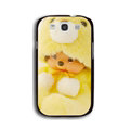 Cool Monchhichi Matte Hard Back Cases For Samsung Galaxy Grand 3 G7200 - Yellow