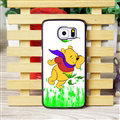 Cool Winnie the Pooh Matte Hard Back Cases For Samsung S6 Edge Plus S6Edge G9280 - Green