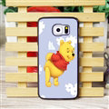 Cool Winnie the Pooh Matte Hard Back Cases For Samsung S6 Edge Plus S6Edge G9280 - Purple
