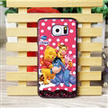 Cool Winnie the Pooh Matte Hard Back Cases For Samsung S6 Edge Plus S6Edge G9280 - Red