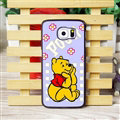 Cool Winnie the Pooh Matte Hard Back Covers For Samsung S6 Edge Plus S6Edge G9280 - Purple