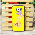 Cool Winnie the Pooh Matte Hard Back Covers For Samsung S6 Edge Plus S6Edge G9280 - Yellow