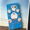 Cooling Doraemon Silicone Casers For Samsung Galaxy Note 4 N9100 - Blue
