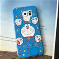 Cooling Doraemon Silicone Casers For Samsung Galaxy Note5 N9200 - Blue