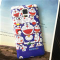 Cooling Doraemon Silicone Casers For Samsung Galaxy S6 Edge G9250 - Purple