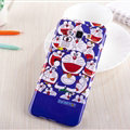 Cooling Doraemon Silicone Cases For Samsung Galaxy A8 A8000 - Dark Blue