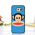 Cooling Matte Paul Frank Hard Back Covers For Samsung S6 Edge Plus S6Edge G9280 - Blue