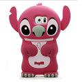 Cute 3D Stitch Silicone Cases For Samsung S6 Edge Plus S6Edge G9280 - Rose