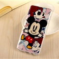 Cute Mickey Mouse Silicone Cases For Samsung GALAXY Note5 N9200 - Black
