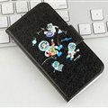 Cute Paul Frank Flip Holster Cases For S6 Edge Plus S6Edge G9280 - Black