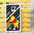 Cute Winnie The Pooh Matte Hard Back Cases For Samsung Galaxy Note Edge N9150 - Grey