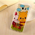 Cute Winnie The Pooh Silicone Cases For Samsung GALAXY Note5 N9200 - Yellow