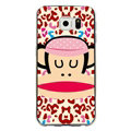 Pretty Paul Frank Silicone Cases For Samsung S6 Edge Plus S6Edge G9280 - Red