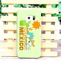 Unique Matte Snoopy Hard Back Covers For Samsung Galaxy S6 Edge G9250 - Green