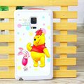Winnie The Pooh Piglet Matte Hard Back Cases For Samsung Galaxy Note Edge N9150 - Color