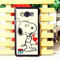Classic Snoopy Matte Hard Back Housing For Samsung Galaxy A7 A7009 - Beige