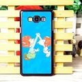 Classic Snoopy Matte Hard Back Housing For Samsung Galaxy A7 A7009 - Blue