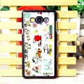 Classic Snoopy Matte Hard Back Housing For Samsung Galaxy A7 A7009 - Color