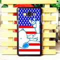 Classic Snoopy Matte Hard Back Shell For Samsung Galaxy A7 A7009 - Blue