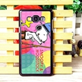 Classic Snoopy Matte Hard Back Shell For Samsung Galaxy A7 A7009 - Color