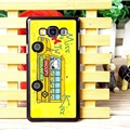 Classic Snoopy Matte Hard Back Shell For Samsung Galaxy A7 A7009 - Yellow
